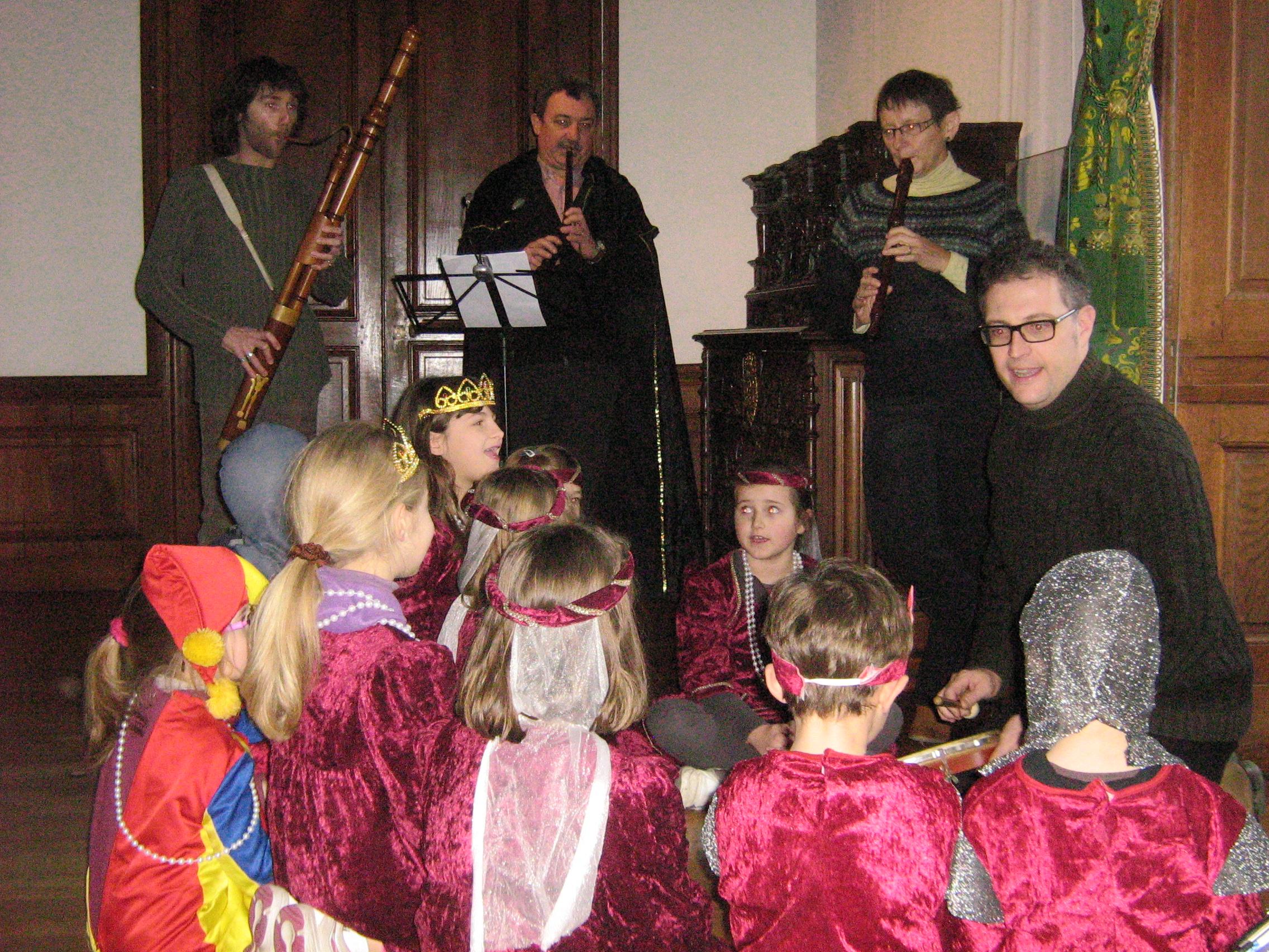 Atelier chant et musique
