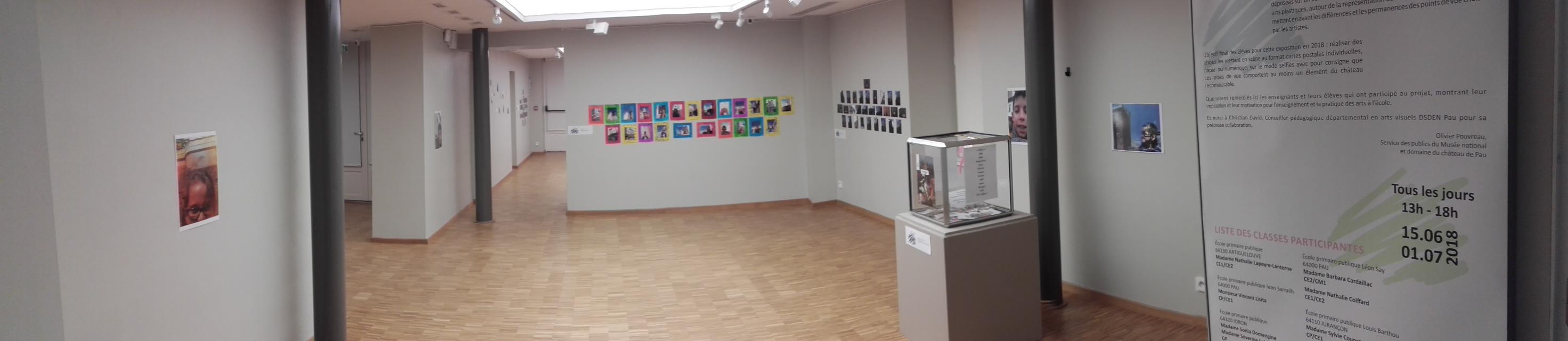 Salle d'exposition Maison Baylaucq
