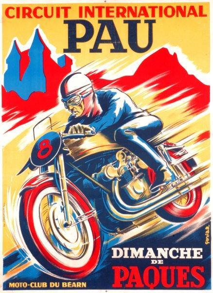 Affiche Grand prix de Pau