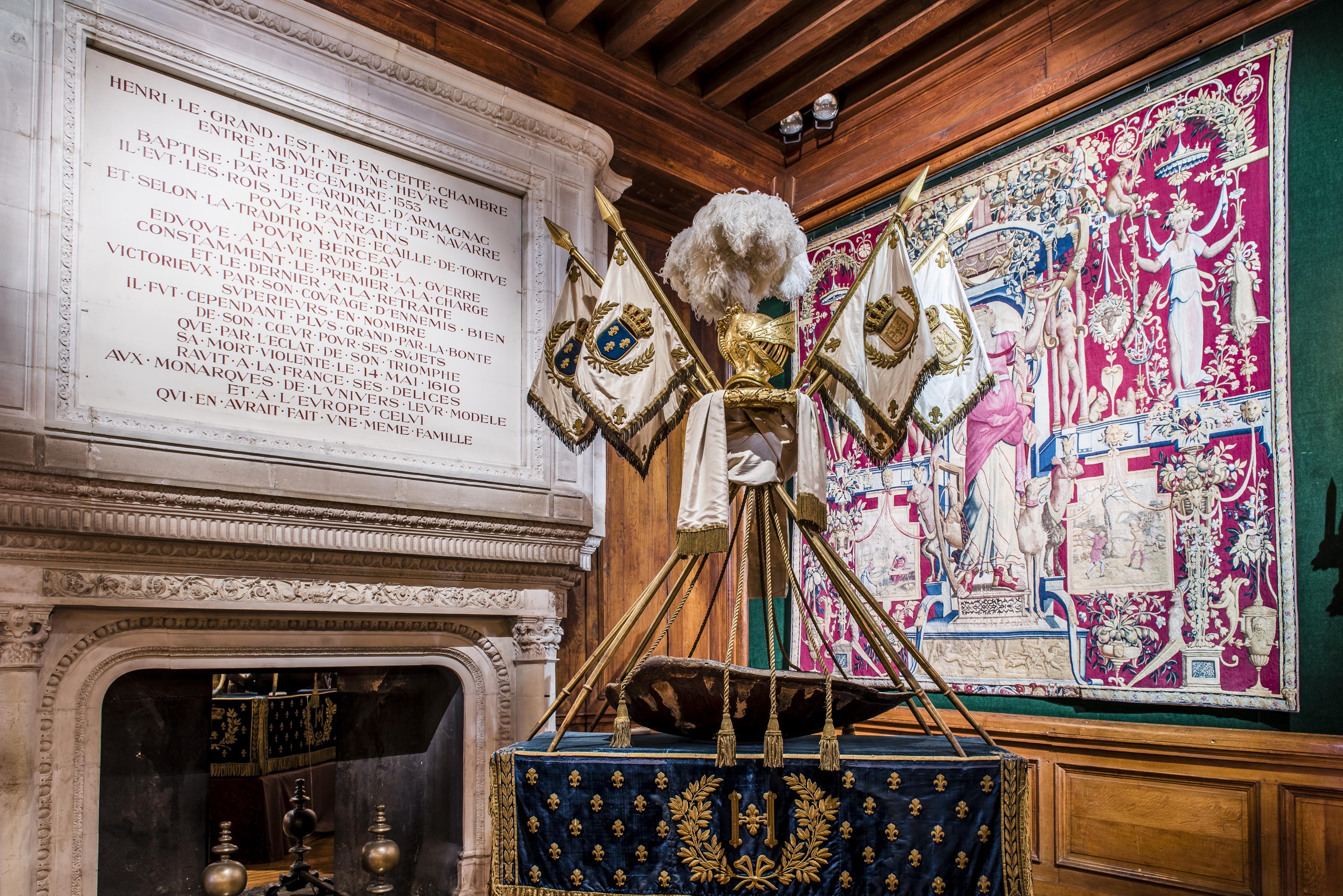 Berceau-carapace du roi Henri IV