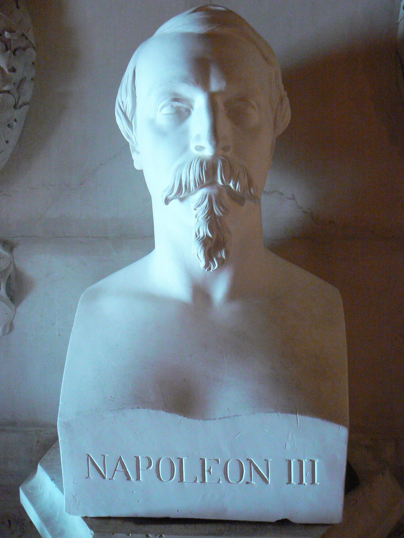 Buste de Napoléon III - Château de Pau