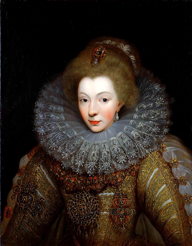 Portrait de Catherine de Bourbon par Cordelier de la Noue