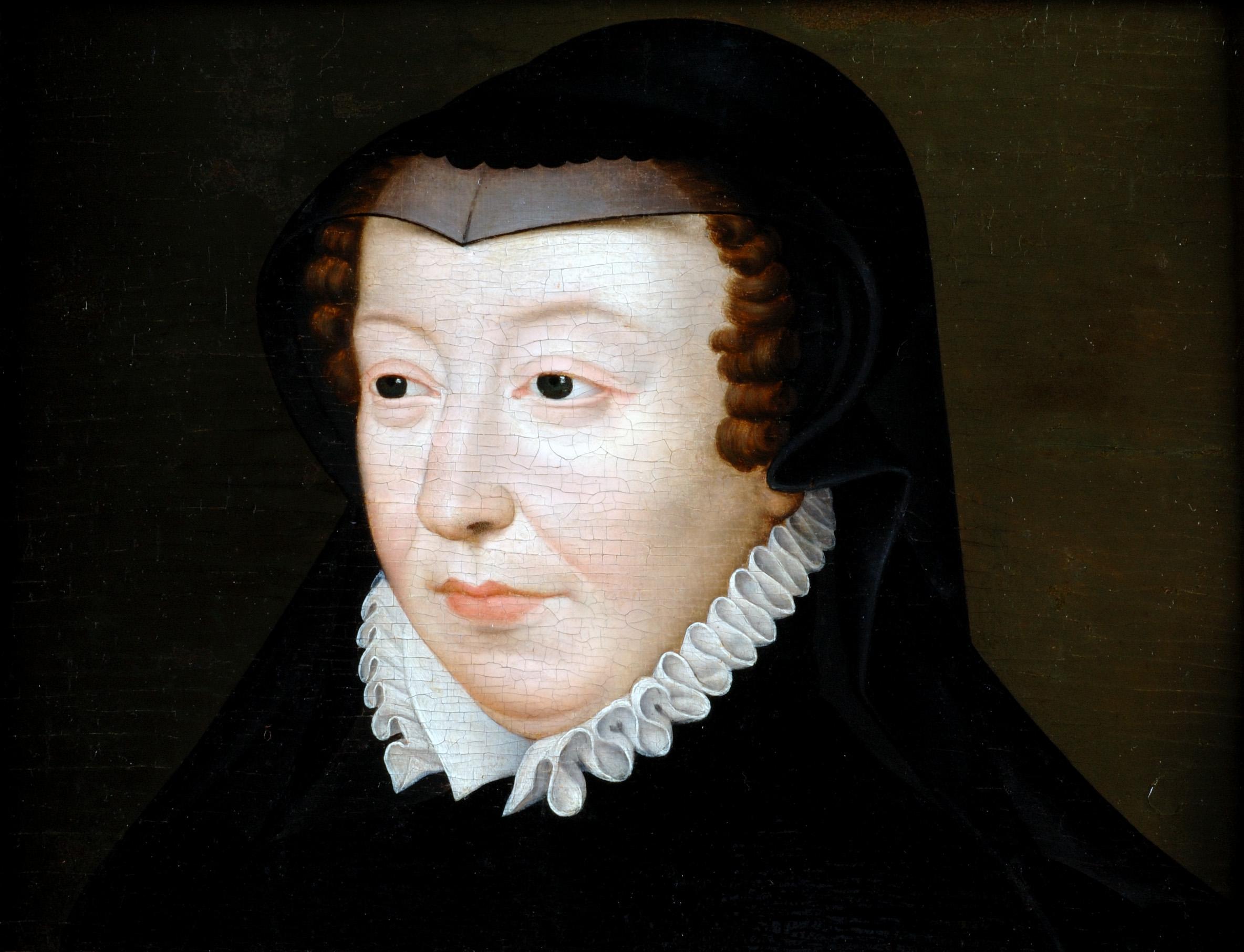 Portrait de Catherine de Médicis en veuve