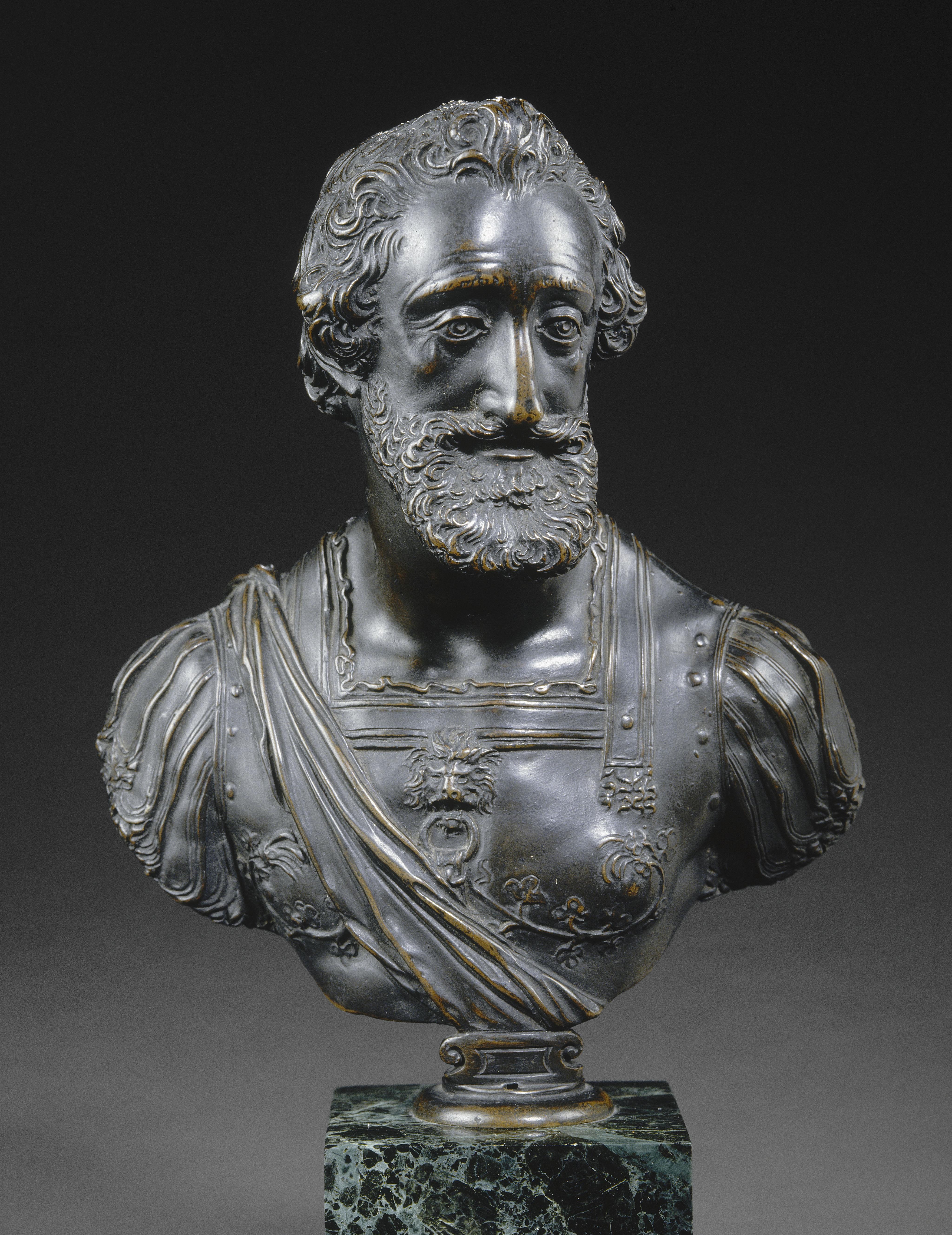 Henri IV en buste - Prieur