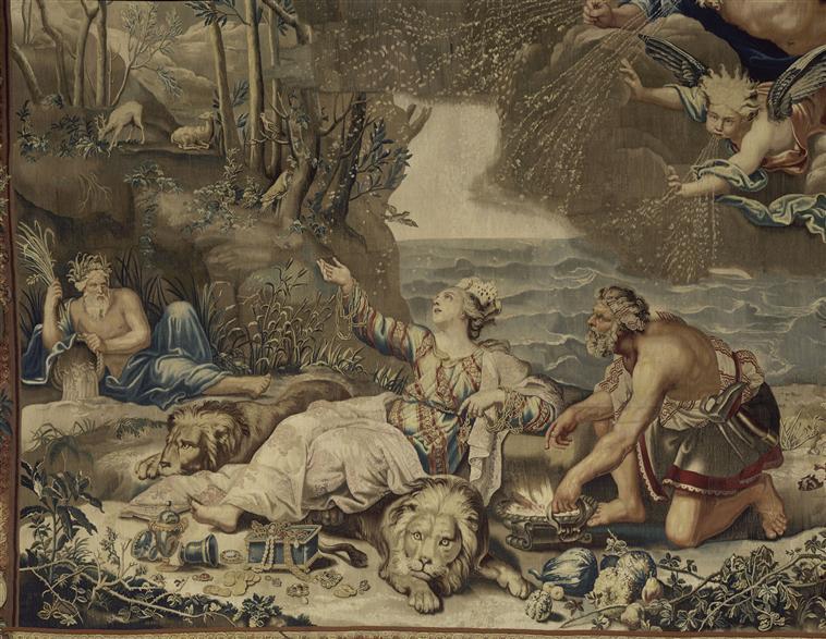 L'Hiver - Tenture de La Galerie de Saint-Cloud