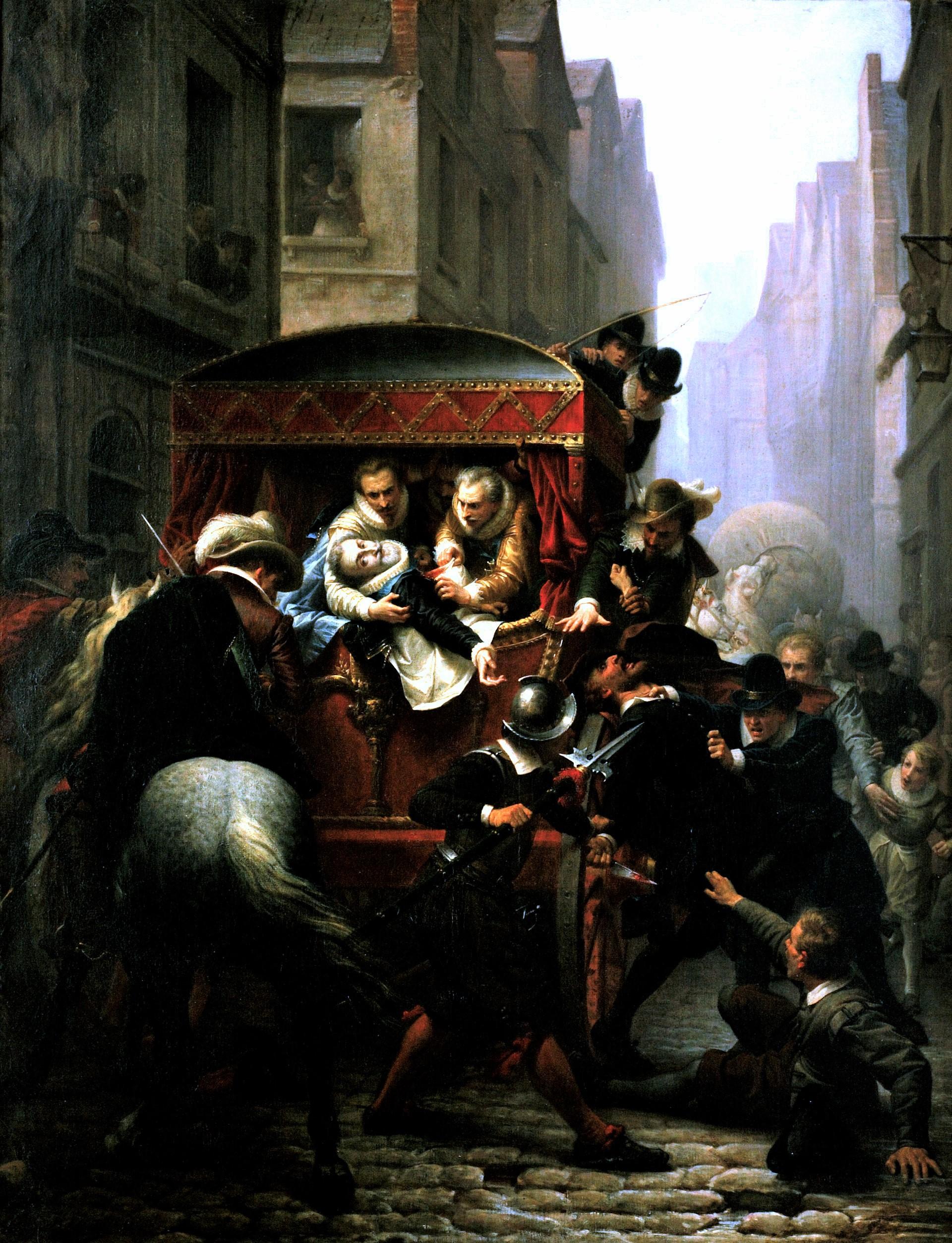 L'Assassinat d'Henri IV de Gustave Housez