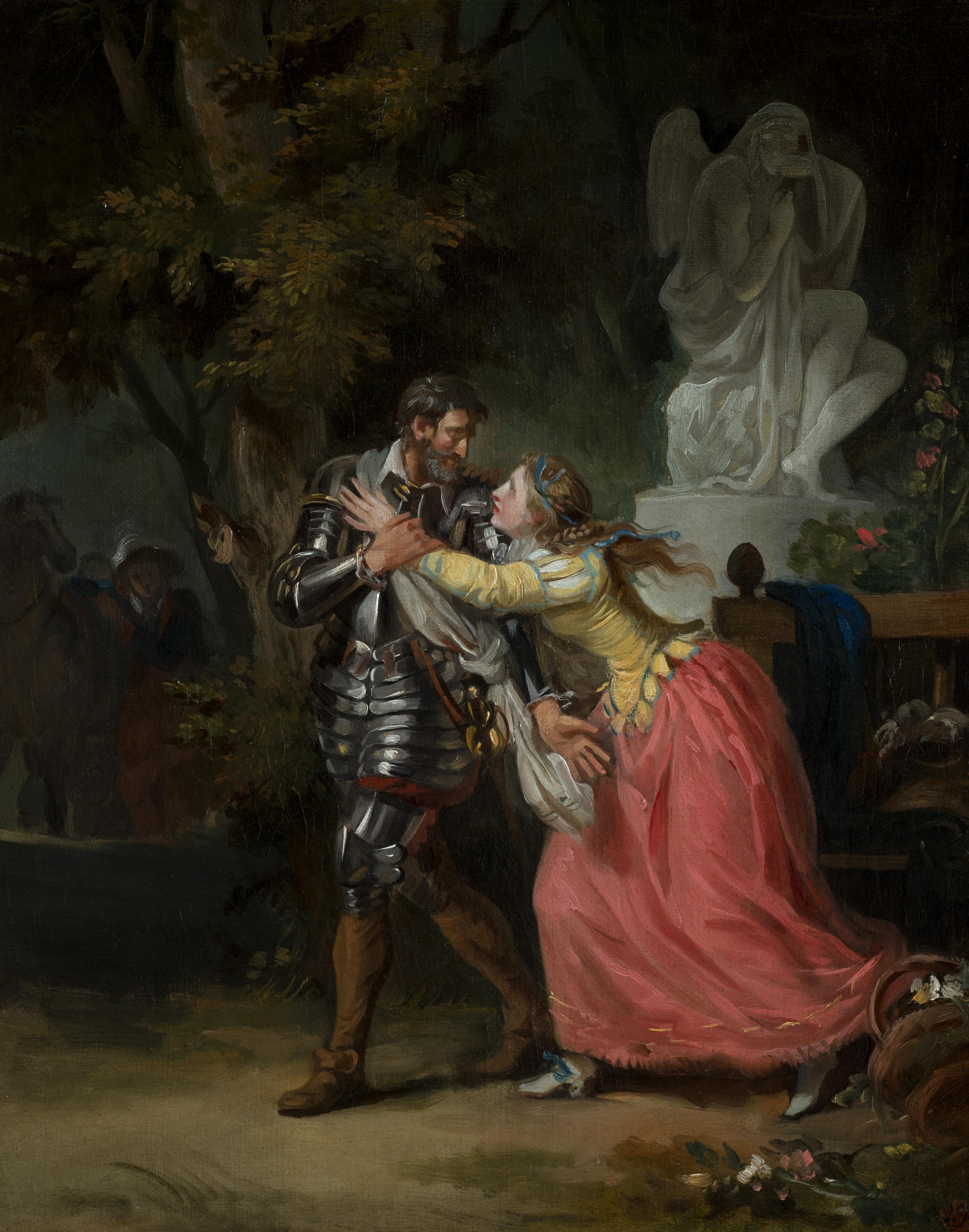 Les Adieux d'Henri IV et de Gabrielle d'Estrées, François-André Vincent (Paris, 1746 – ibid., 1816)