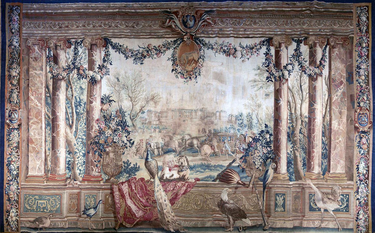 """Tenture des """"Maisons Royales - L'Ancien Versailles"""