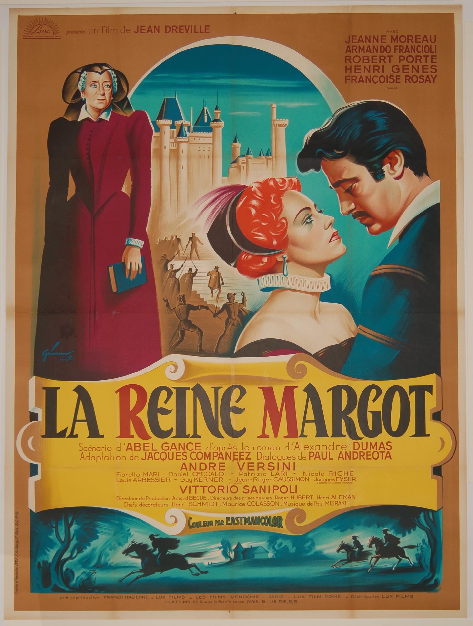 Affiche du film La reine Margot de