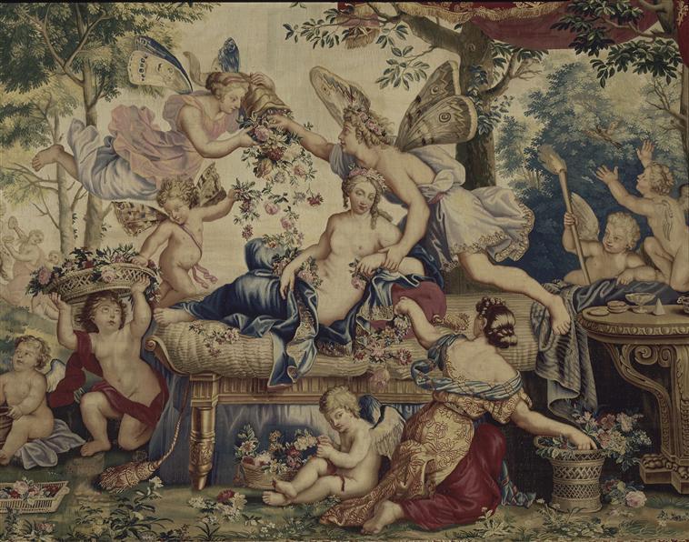 Le Printemps - Tenture de La Galerie de Saint-Cloud