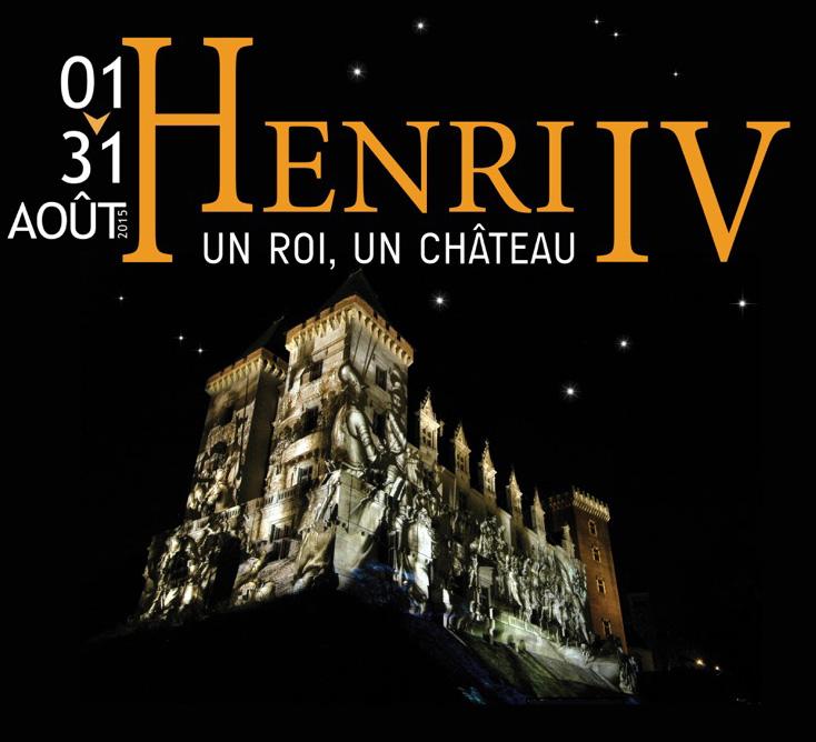 Affiche Son et lumière au château de Pau
